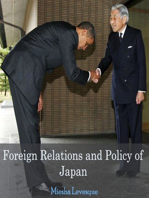 cover image of Foreign Relations and Policy of Japan