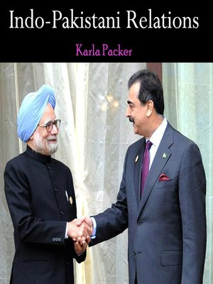 cover image of Indo-Pakistani Relations