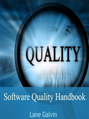 cover image of Software Quality Handbook