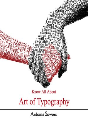 cover image of Know All About Art of Typography