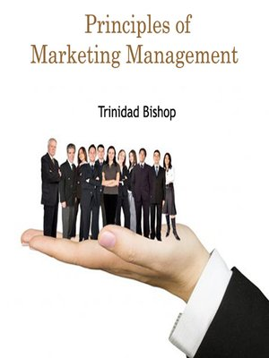 cover image of Principles of Marketing Management