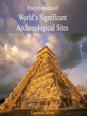 cover image of Encyclopedia of World's Significant Archaeological Sites