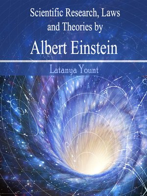 cover image of Scientific Research, Laws and Theories by Albert Einstein