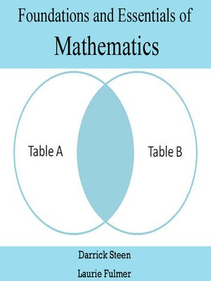 cover image of Foundations and Essentials of Mathematics