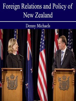 cover image of Foreign Relations and Policy of New Zealand