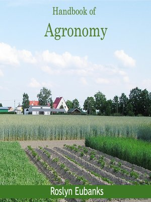 cover image of Handbook of Agronomy