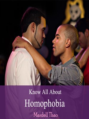 cover image of Know All About Homophobia