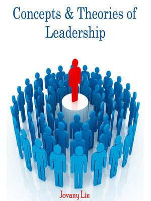 cover image of Concepts and Theories of Leadership