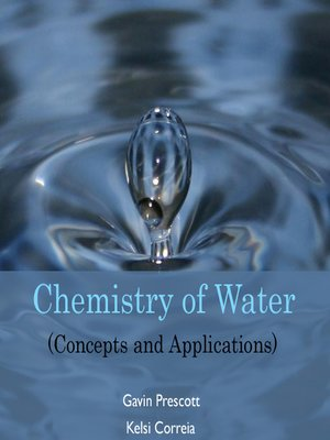cover image of Chemistry of Water