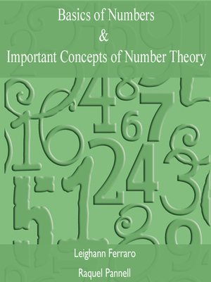 cover image of Basics of Numbers & Important Concepts of Number Theory