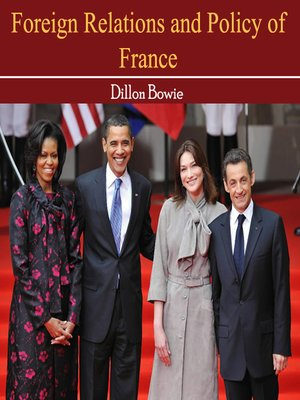 cover image of Foreign Relations and Policy of France