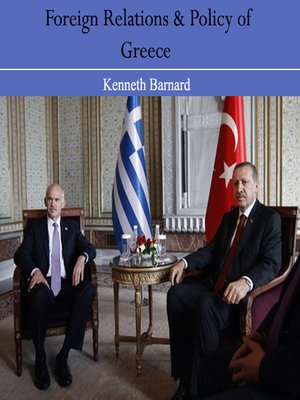 cover image of Foreign Relations and Policy of Greece