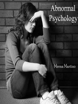 cover image of Abnormal Psychology