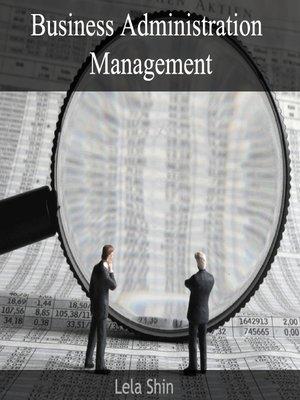 cover image of Business Administration Management