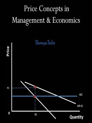 cover image of Price Concepts in Management and Economics