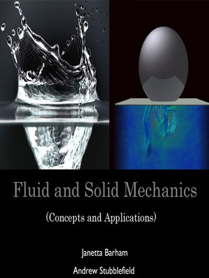 cover image of Fluid and Solid Mechanics
