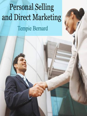 cover image of Personal Selling and Direct Marketing