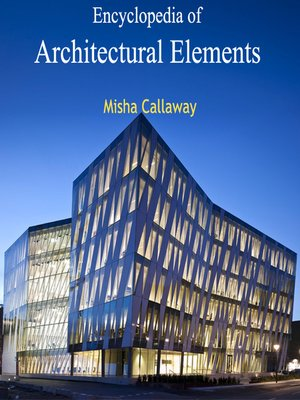 cover image of Encyclopedia of Architectural Elements