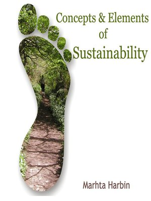 cover image of Concepts and Elements of Sustainability