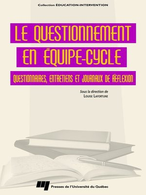 cover image of Le questionnement en équipe-cycle