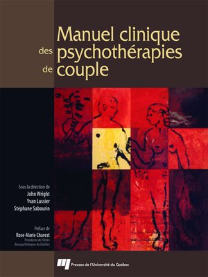 cover image of Manuel clinique des psychothérapies de couple