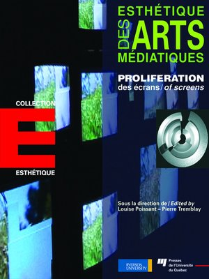 cover image of Prolifération des écrans / Proliferation of Screens