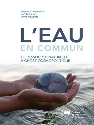 cover image of L' eau en commun