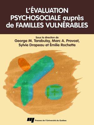 cover image of L' évaluation psychosociale auprès de familles vulnérables
