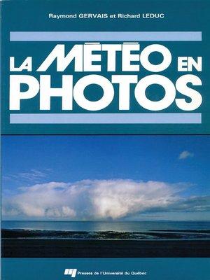 cover image of La météo en photos