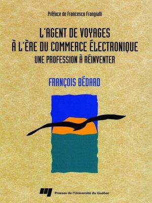 cover image of L' agent de voyages à l'ère du commerce électronique
