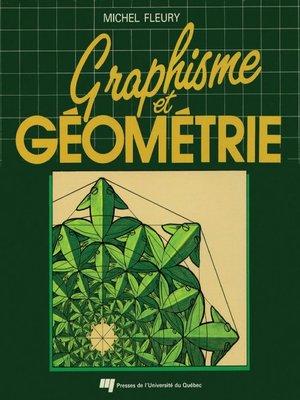 cover image of Graphisme et géométrie