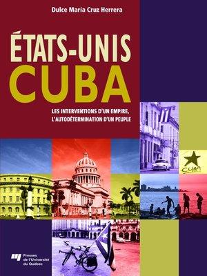 cover image of États-Unis/Cuba