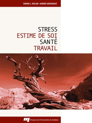 cover image of Stress, estime de soi, santé et travail