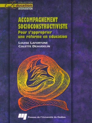 cover image of Accompagnement socioconstructiviste