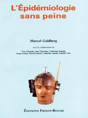 cover image of L' épidémiologie sans peine