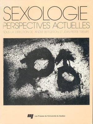 cover image of Sexologie : perspectives actuelles