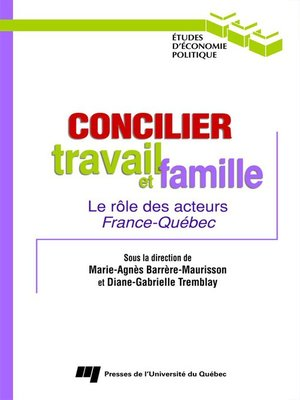 cover image of Concilier travail et famille