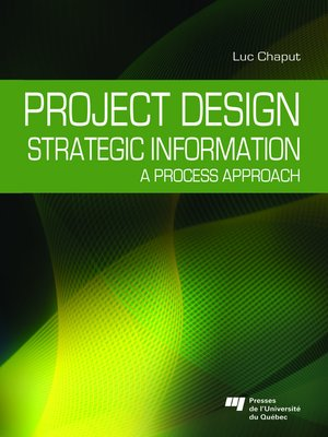 cover image of Project Design: Strategic Information