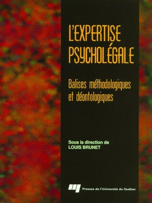 cover image of L' expertise psycholégale