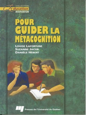 cover image of Pour guider la métacognition