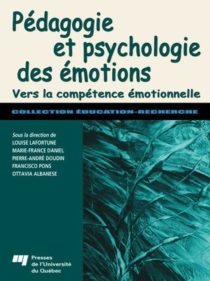 cover image of Pédagogie et psychologie des émotions