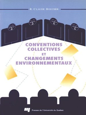 cover image of Conventions collectives et changements environnementaux