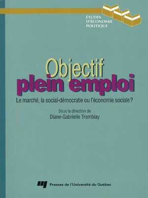 cover image of Objectif plein emploi