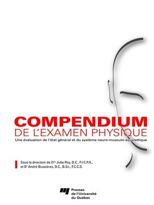 cover image of Compendium de l'examen physique