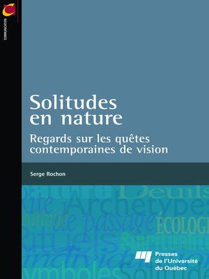 cover image of Solitudes en nature