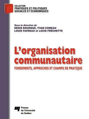 cover image of L' organisation communautaire