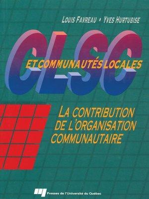 cover image of CLSC et communautés locales
