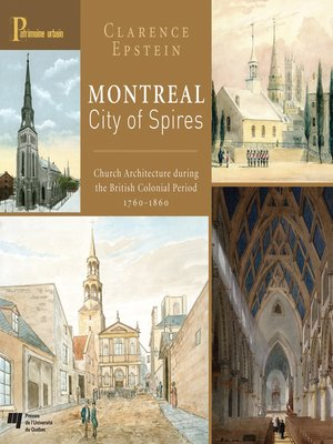 cover image of Montreal, City of Spires