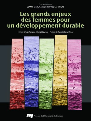 cover image of Les grands enjeux des femmes pour un développement durable