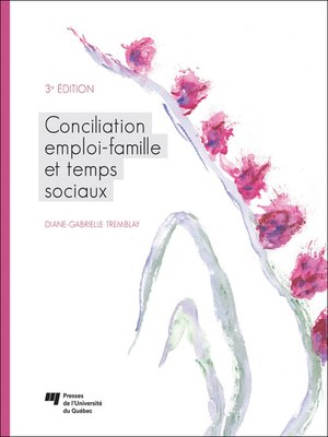 cover image of Conciliation emploi-famille et temps sociaux